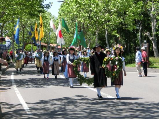 スウェーデンヒルズ夏至祭
